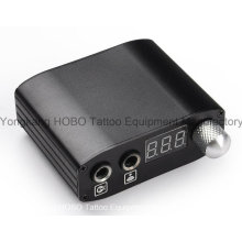 Newest 2-Year Warranty Mini Digital Tattoo Power Supply with Clip Cord & Foot Switch